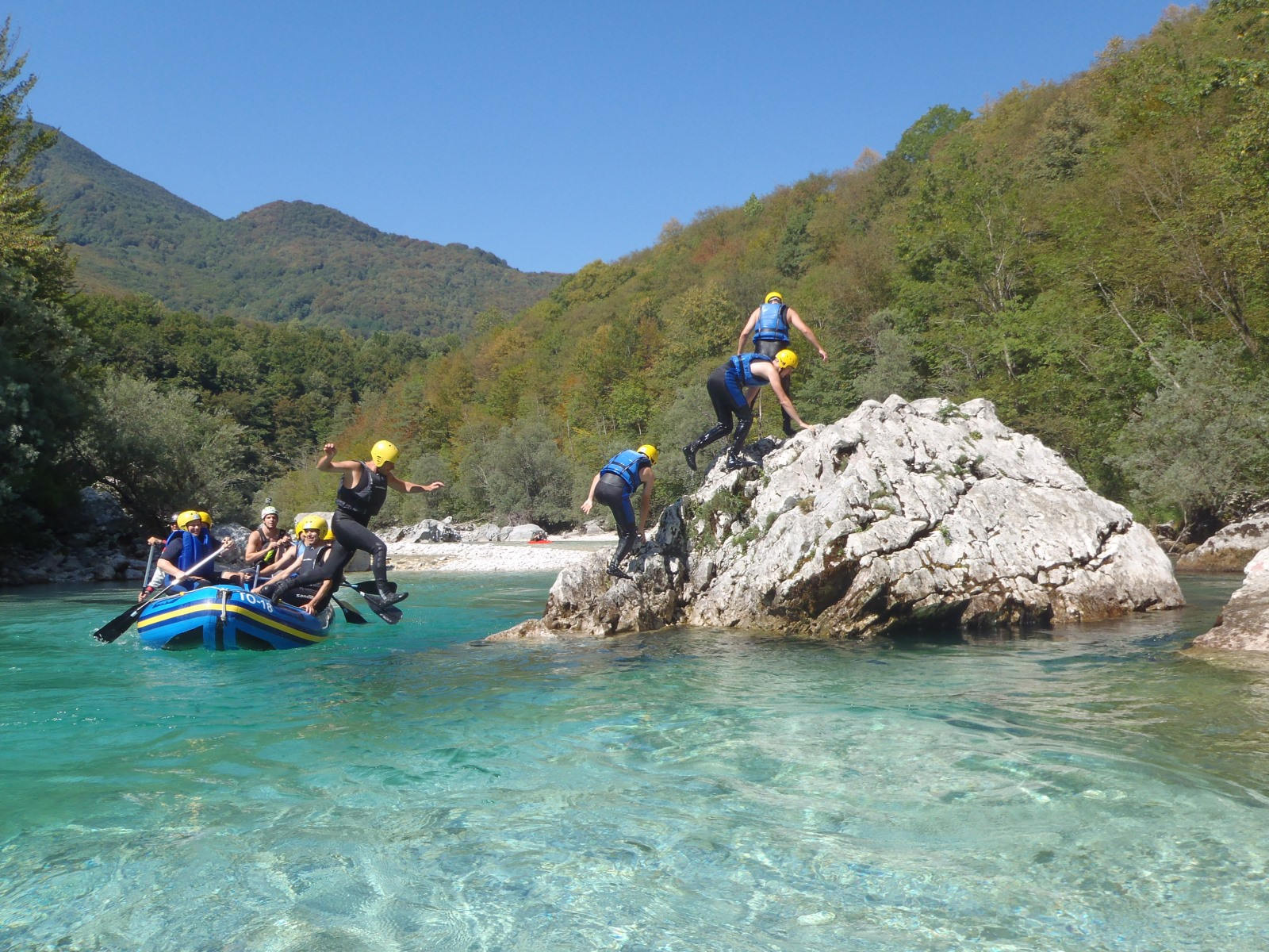 Fun on Soča River